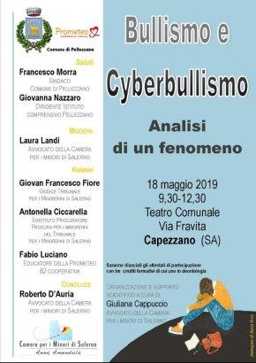 bullismo e cyberbullismo locandina